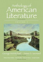 Anthology of American Literature Volume 1 10th Edition