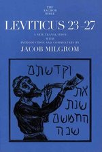 LEVITICUS 23-27 ANCHOR