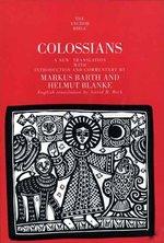 COLOSSIANS ANCHOR