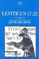 LEVITICUS 17-22 ANCHOR