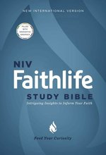 NIV Faithlife Study Bible Hardcover Intriguing Insights to Inform Your Faith NR