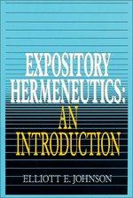 Expository Hermeneutics an Introduction Expository