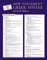 New Testament Greek Syntax Laminated Sheet