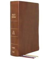 Net Bible Brown Comfort Print Full Notes Edition Genuine