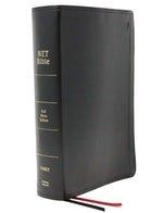 Net Bible Black Comfort Print Full Notes Edition