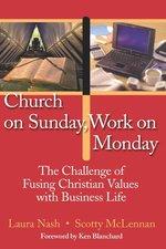 CHURCH ON SUNDAY WORK ON MONDAY