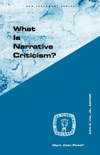 WHAT IS NARRATIVE CRITICISM
