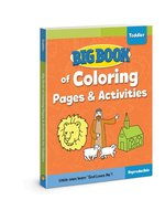 Big Book of Coloring Pages & Activities for Toddlers