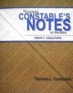 Thomas Constables Notes on the Bible Volume 2 Joshua thru Esther