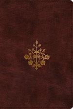 ESV Study Bible Burgundy Personal Size Branch Design