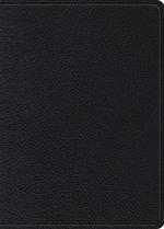 ESV MacArthur Study Bible Black Genuine Leather