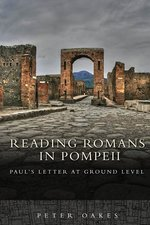 READING ROMANS IN POMPEII PAULS LETTER AT GROUND LEVEL