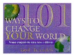 101 WAYS TO CHANGE YOUR WORLD OP!