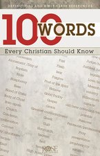 100 Words Every Christian Should Know Pamphlet