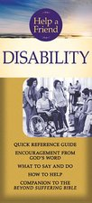 Disability Help a Friend Pamphlet