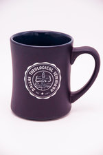 16 oz. Purple Diner Mug with Etched Seal