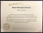Graduation Certificate of Appreciation Trifold