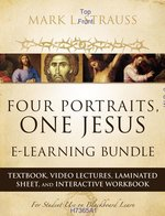 Four Portraits, One Jesus E-Learning Bundle: Textbook, Video Lectures, Laminated Sheet, and Interactive Workbook