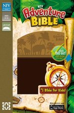 NIV Adventure Bible, Chocolate/Toffee