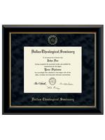 Diploma Frame Embossed Seal Onyx