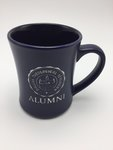 16 Oz. Blue Etched Alumni Seal Mug