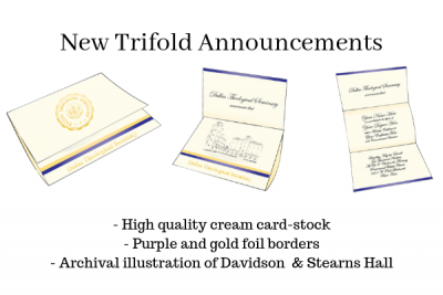 new trifold announcement